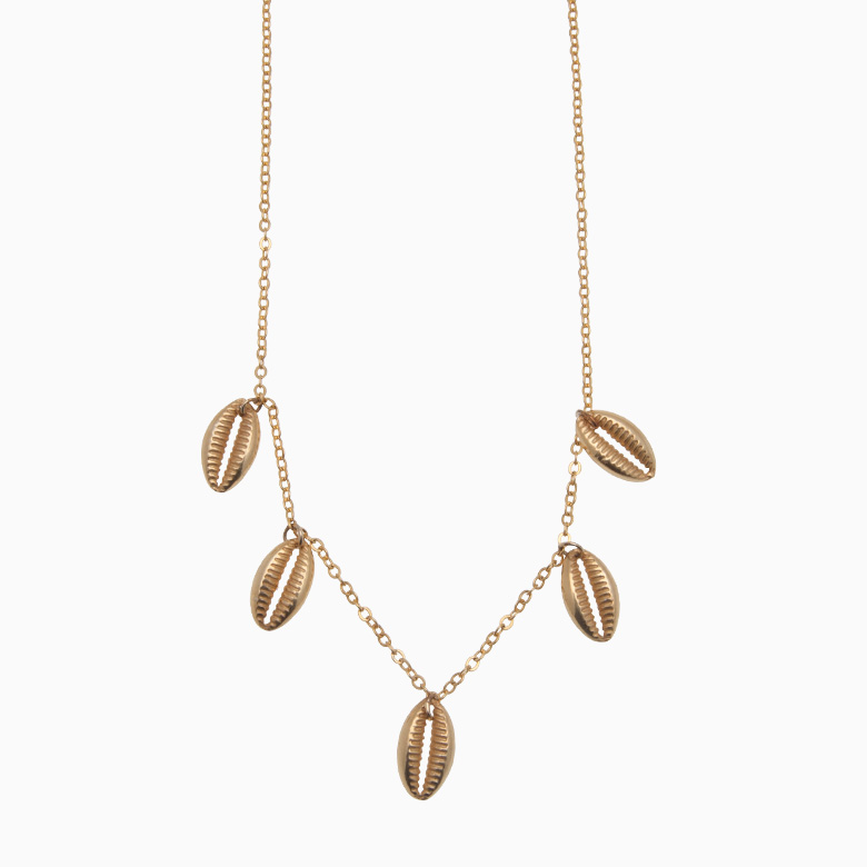 Halskæde af guld konkylier | no. 800