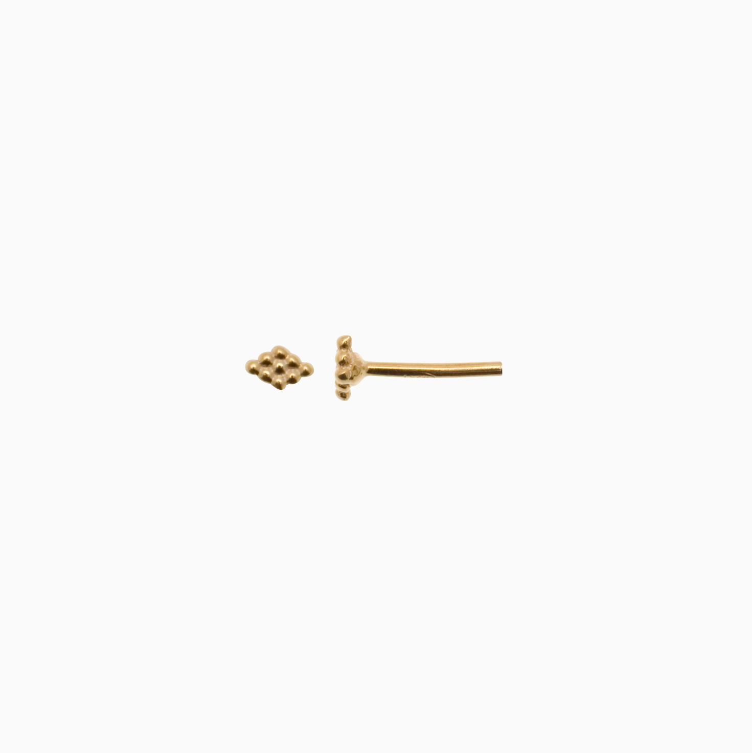 Ørestik af guld i harlekin | no. 749