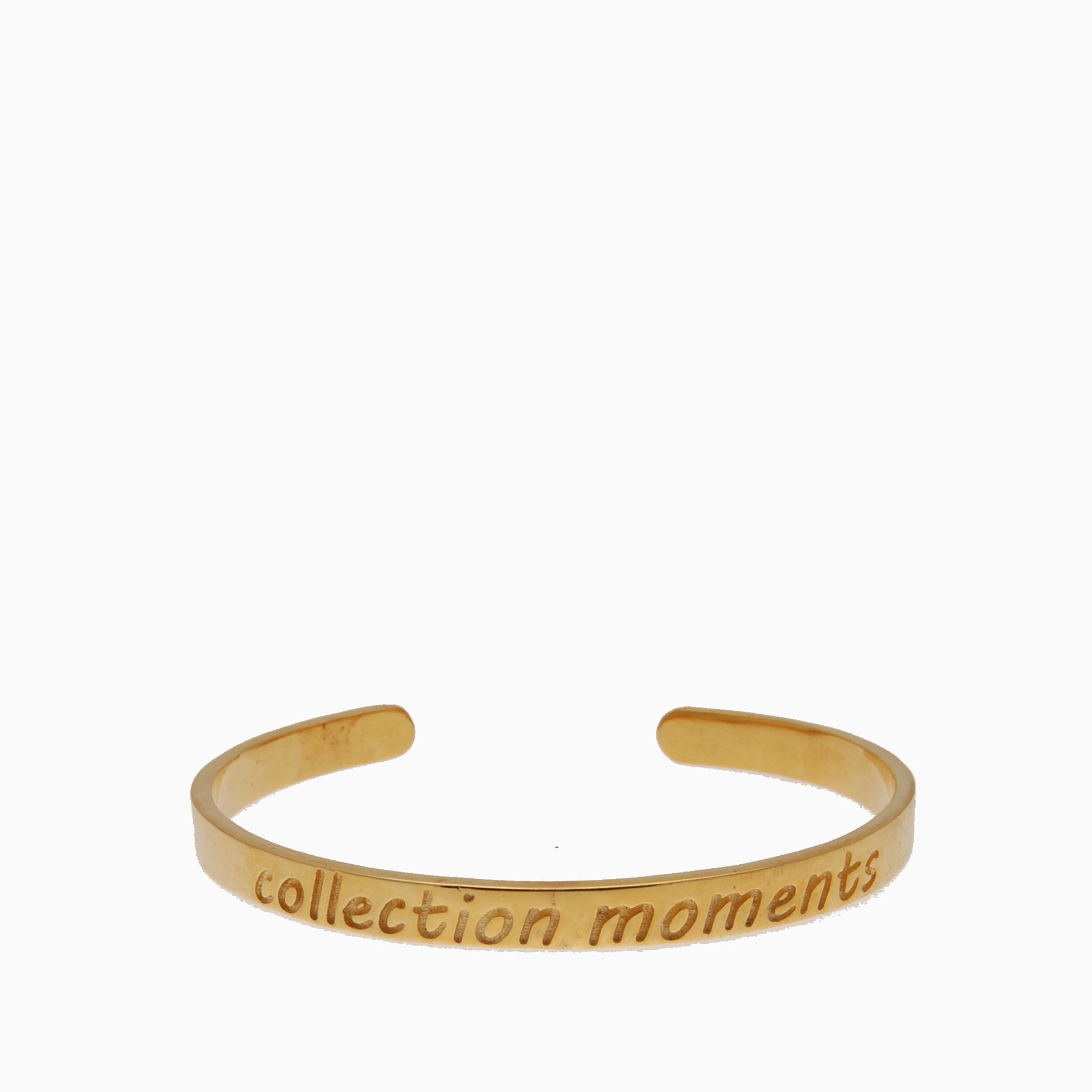 Armbånd guldbelagt med statement | no. A3
